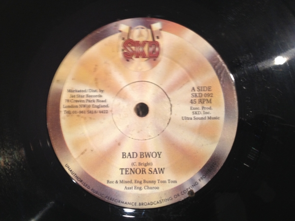 ■Tenor Saw/Bad Bwoy■KILLER DIGITAL!_画像1