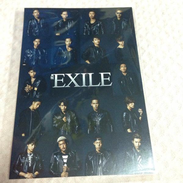 EXILE ポストカード 新品
