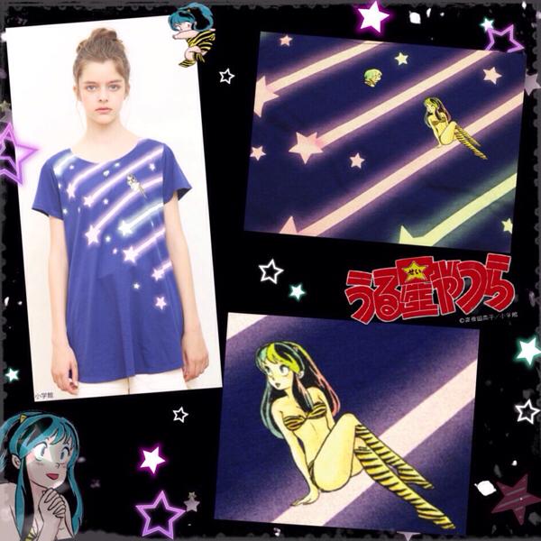 うる星やつら ラムちゃん Aライン チュニック Tシャツ アニメ グッズの画像