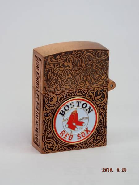 ボストン レッドソックス カスタマイズ Zippo ライター_画像1