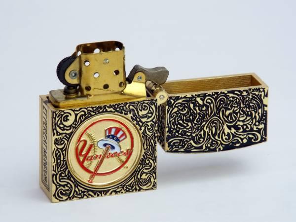 Zippo ライター ニューヨーク・ヤンキース カスタマイズ