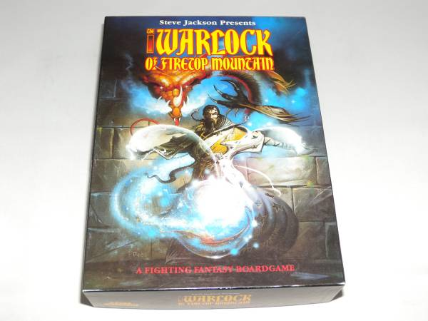 (GW)WARLOCK OF THE FIRETOP MOUNTAIN 火吹き山の魔法使い、日本語訳付、未使用