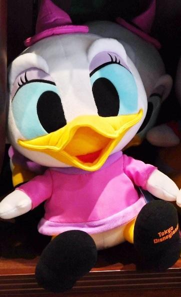 ディズニーランド 非売品ぬいぐるみ ハロウィン2016 デイジー ディズニーグッズの画像
