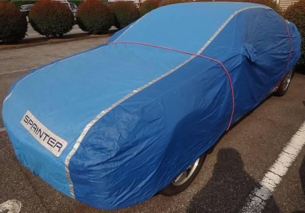 トヨタ純正 ボディーカバー スプリンター カローラ E80系 AE86 トレノ レビン AE101 AE111 AE92 ハチロク_中身の車は付属しません。