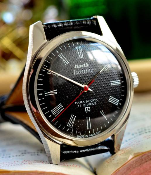 極上品☆HMT JUBILEE 手巻き 腕時計