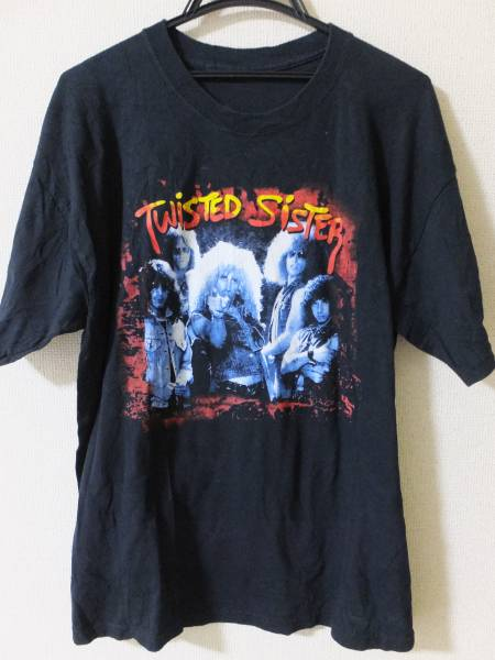 TWISTED SISTER/Tシャツ/ブラック/I WANNA ROCK!