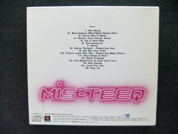 CD западная музыка MIS TEEQ EYE CANDY