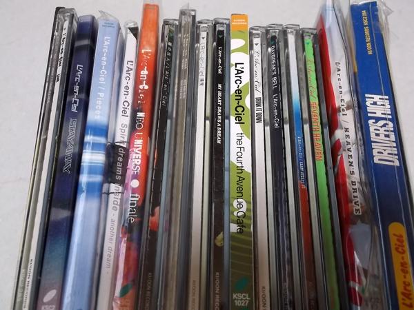 ●ラルクアンシエル【 CDマキシシングル17枚セット】 美品♪