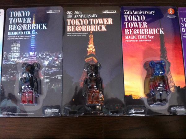 激レア東京タワー3種スカイツリー2種ベアブリックBE@RBRICK100%_画像2