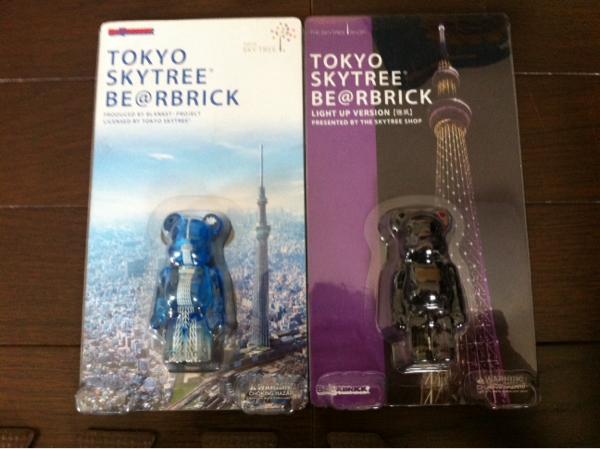 激レア東京タワー3種スカイツリー2種ベアブリックBE@RBRICK100%_画像3
