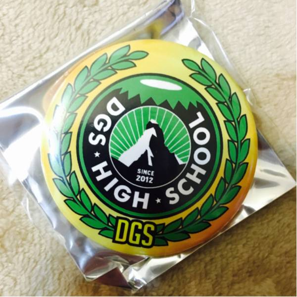 DGS EXPO 2016 おみくじ缶バッジ 神谷浩史 小野大輔 DGS学園ロゴ