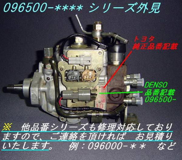 噴射ポンプ ハイラックスサーフLN108・112・130・165・170など_画像3