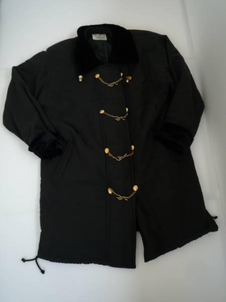 【お得!!】 ◆ TERESIANO ◆ ロングジャケット 黒色 長袖 フリー
