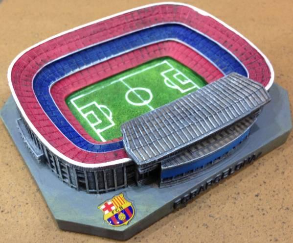 FCバルセロナ オフィシャルグッズ カンプノウスタジアムミニ模型 グッズの画像