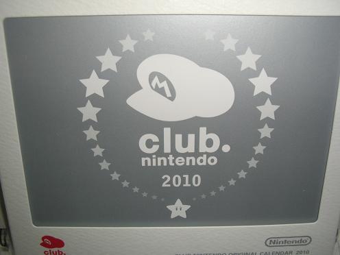 クラブニンテンドー会員限定■2010年卓上カレンダー■未使用_画像1