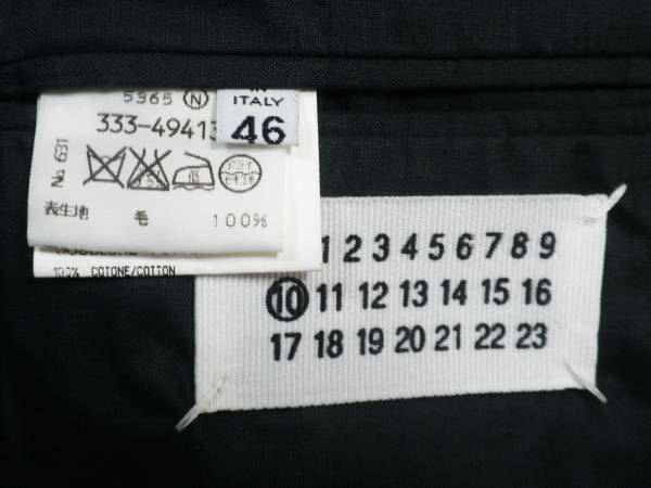 【値下げ交渉あり】マルタンマルジェラ 初期 テーラードジャケット ビンテージ アーカイブ レア 希少 貴重_画像3