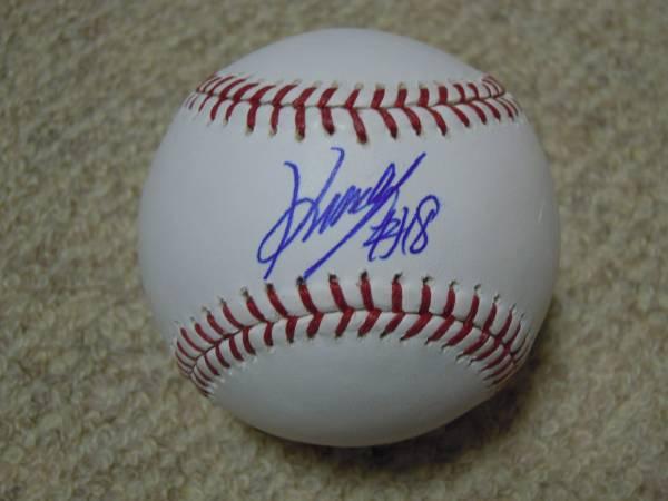 MLB シアトル・マリナーズ 岩隈 久志 直筆サイン入りボール グッズの画像