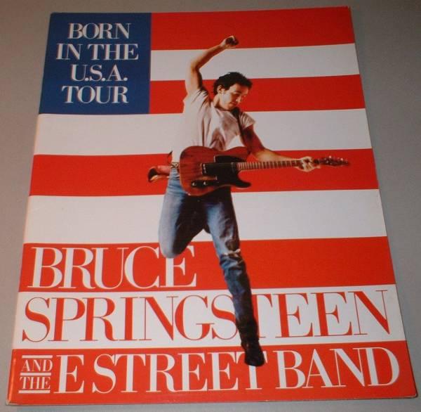 ブルース・スプリングスティーン パンフ[BORN IN THE USA TOUR]