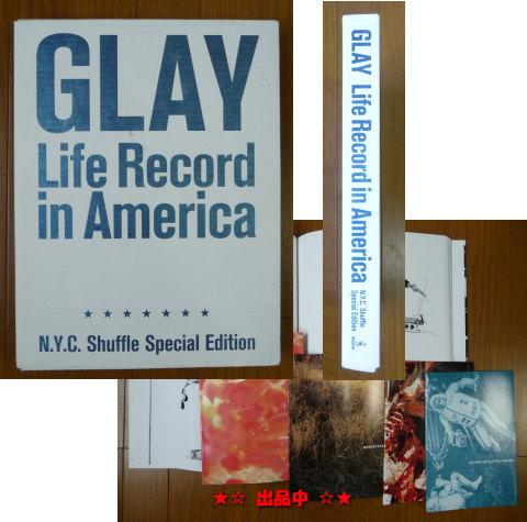 即決★GLAY写真集 Life Record in America グレイ 価格10,500円