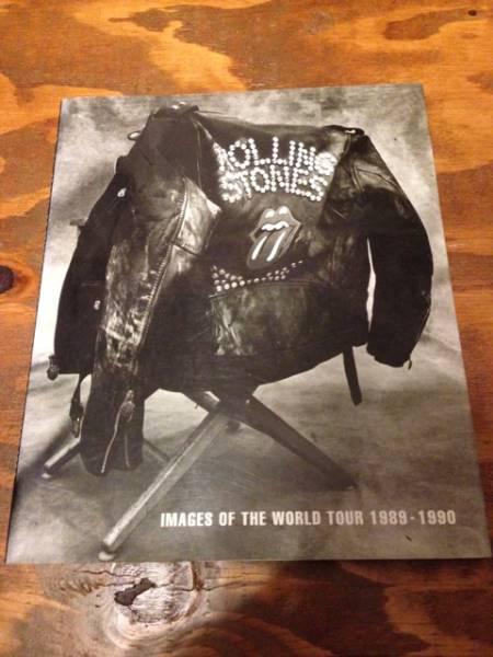 ローリングストーンズ オフィシャル写真集 WORLD TOUR ライブグッズの画像