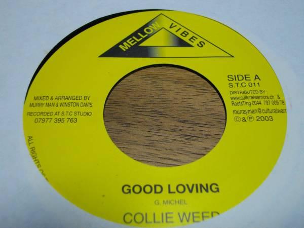 Collie weed [good loving] 7inch new roots EX reggae レゲエ roots ニュールーツ record レコード uk アナログ analog killer キラー_画像1