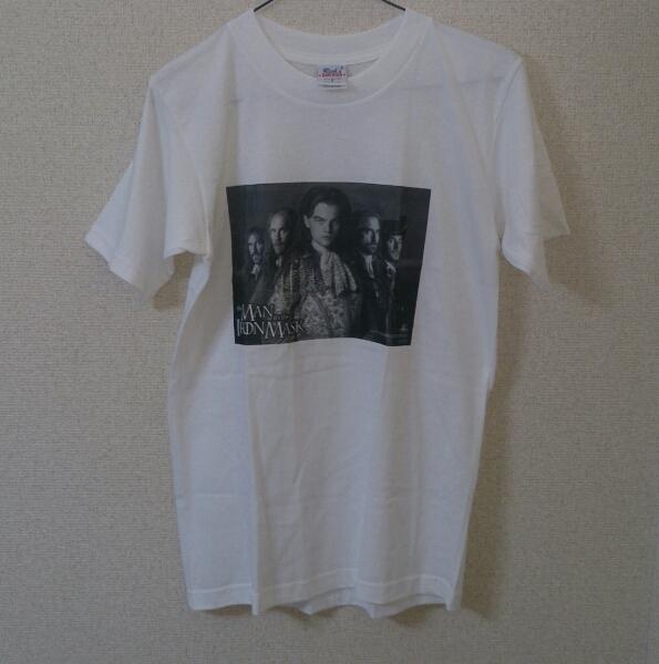 仮面の男 The Man in the IronMask レオナルド ディカプリオ Tシャツ / Rick's AMERICA USA製
