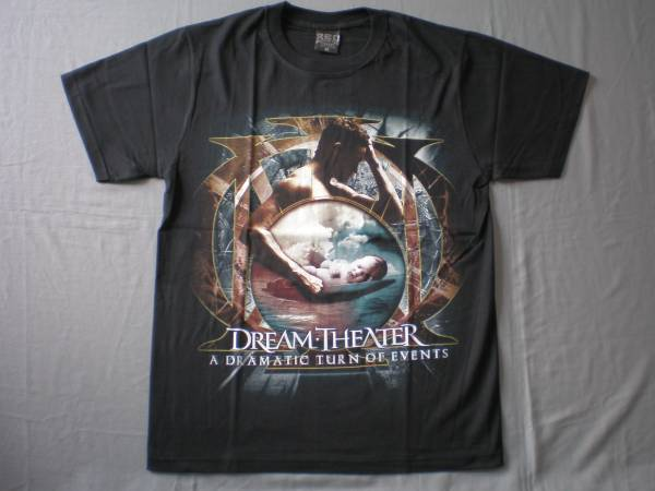 バンドTシャツ  ドリーム・シアター (DREAM THEATER )w1新品M