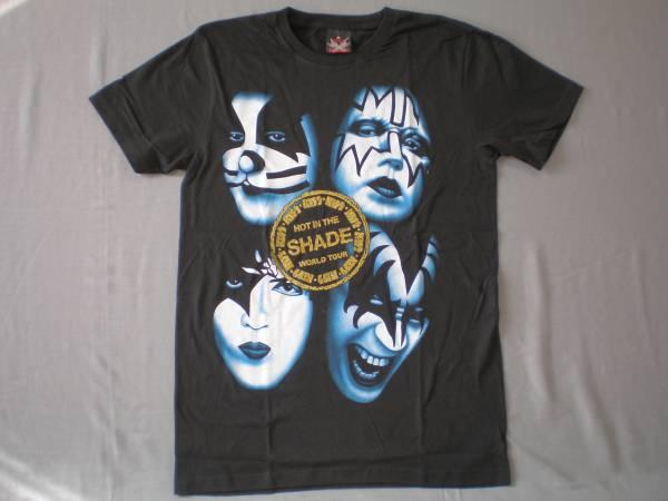 バンドTシャツ  キッス (Kiss)w1  新品 M ライブグッズの画像