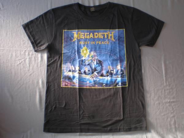 バンドTシャツ    メガデス( MEGADETH)w 新品M