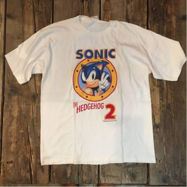 90s~ ユーズド プリント Tシャツ SONIC ソニック UC146
