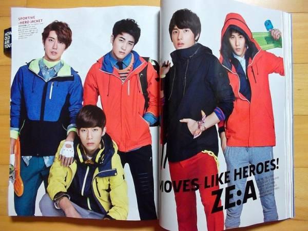 [ZE:A ゼア]韓国雑誌切り抜き12P/2013年3月 コンサートグッズの画像