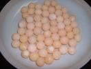 天然すっぽんの卵・自然産卵 5個X4出品 産卵した卵・お安く