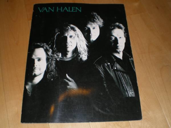 VAN HALEN/ヴァン・ヘイレン/ツアーパンフレット1989