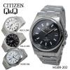シチズン/ソーラー 電波 メンズ 腕時計 HG08-202 ブラック