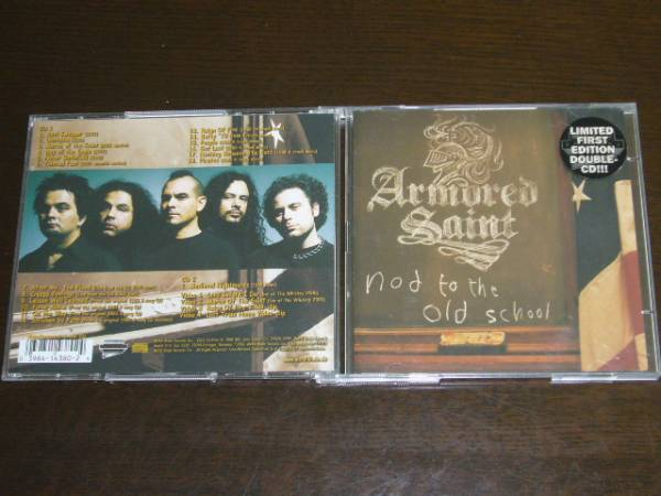 輸入盤 初回限定2CD Armored Saint /Nod To The Old School