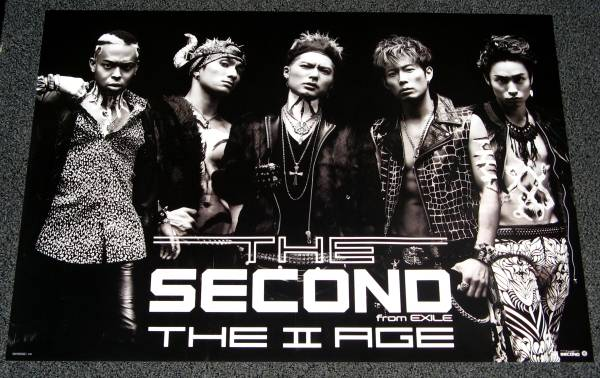 THE SECOND from EXILE [THE II AGE] 非売品ポスター