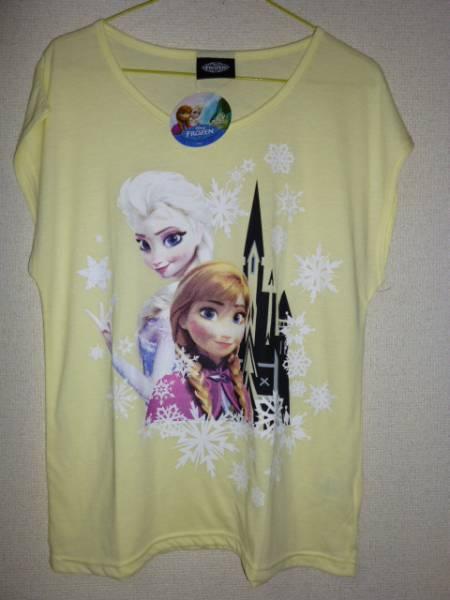 新品 ディズニー アナと雪の女王 tシャツ m アナ エルサ アナ雪 ディズニーグッズの画像
