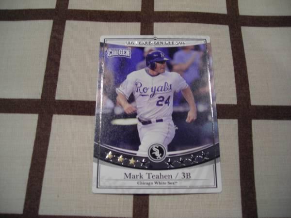 ロケテ◆SEGA CARD-GEN MLB 2010◆白 [マーク・ティーエン]_画像1