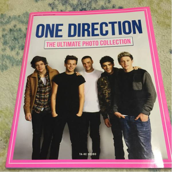 ONE DIRECTION THE ULTIMATE PHOTO COLLECTION 写真集 初版