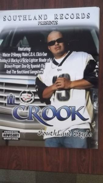 ☆LIL CROOK / SouthLand Style・COA CLICK 両面ポスタ-!