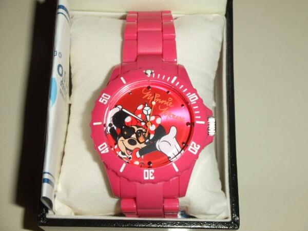 TDR限定☆ミニーマウス☆腕時計☆ウォッチ☆サングラス☆新品 ディズニーグッズの画像