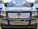 02up VW トゥアレグ 7P 7L クロームメッシュグリルフルセット メッキ 専用設計 外装カスタム ボディ-パ-ツ