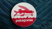 ★ patagonia パタゴニア ステッカー フライングフィッシュ柄 ★