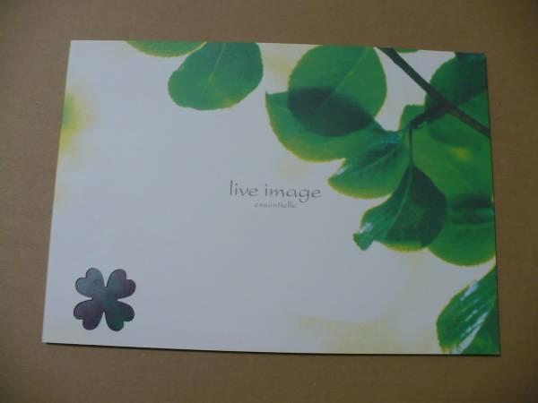 Βライブ・イマージュ パンフレット2005年 コンチチ 葉加瀬太郎