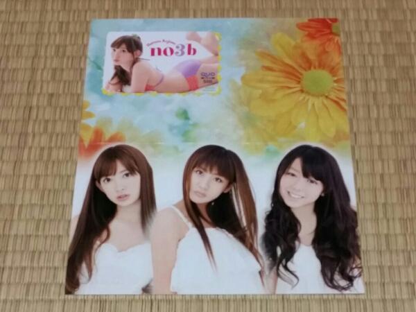 ノースリーブス 小嶋陽菜 AKB48 QUOカード台紙付 2 ライブグッズの画像