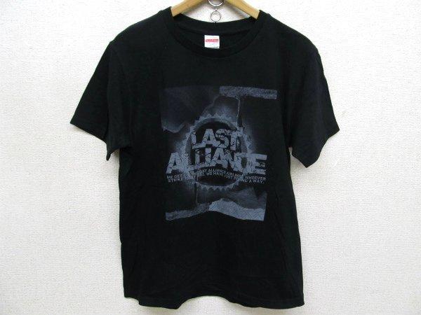 LAST ALLIANCEラストアライアンス プリントTシャツ黒Lt6470