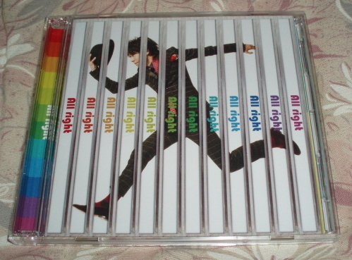 CD+DVD★鈴村健一「All right」初回限定盤_画像1