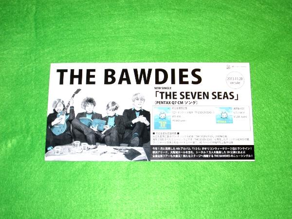 t 告知ポップ POP [THE SEVEN SEAS] THE BAWDIES