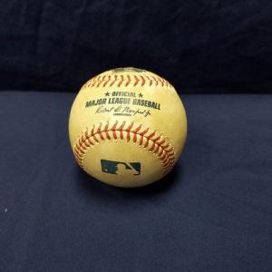ドジャース 前田 健太 対マイマミマーリンズ戦 実投球ボール グッズの画像
