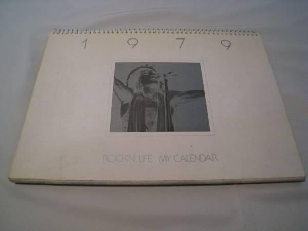 ROCK'N LIFE MY CALENDAR 1979 ワーナー_画像1